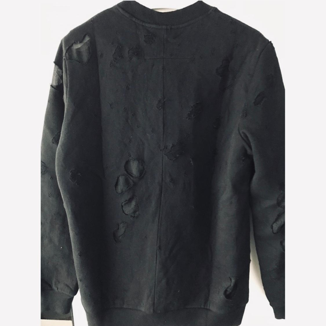 Givenchy distressed sweatshirt cuban fit Givenchy3