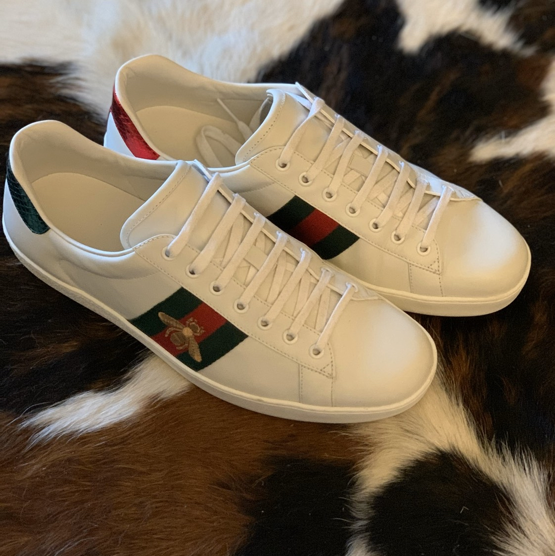 Gucci Ace Embroidered Bee Sneaker Gucci0