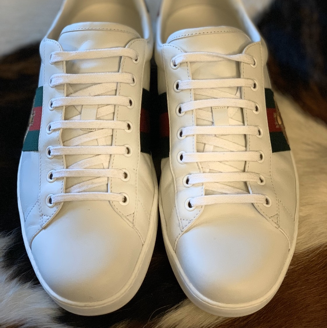Gucci Ace Embroidered Bee Sneaker Gucci2