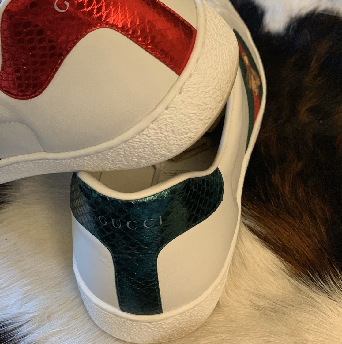Gucci Ace Embroidered Bee Sneaker Gucci1