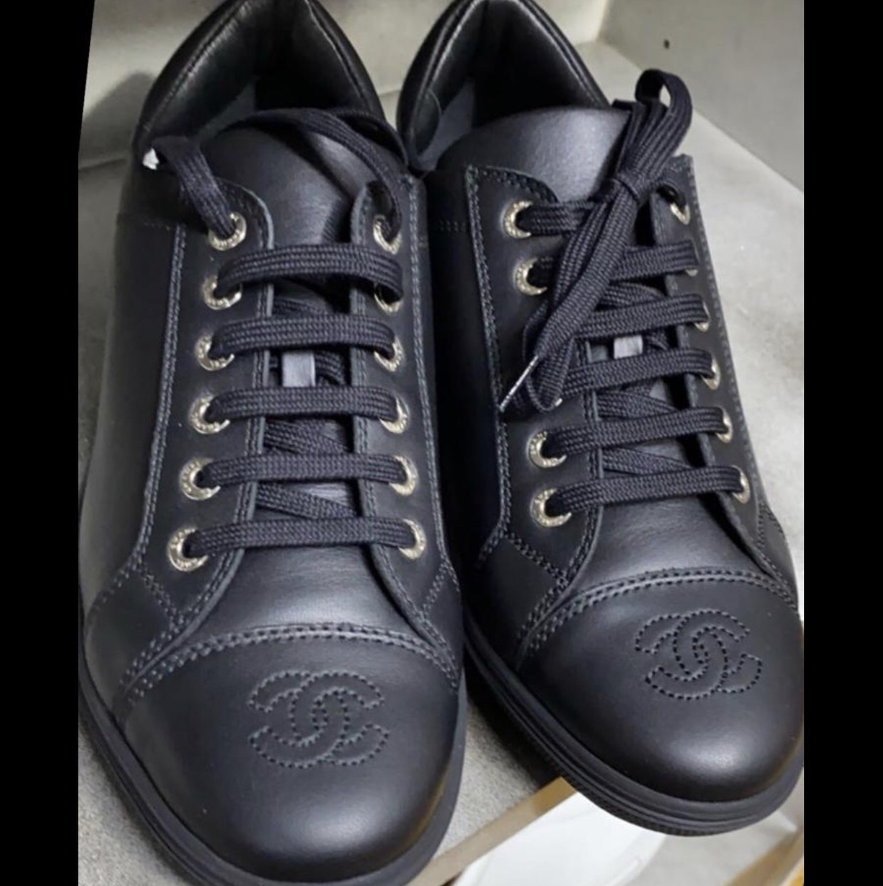 Sneakers Chanel. New Chanel1