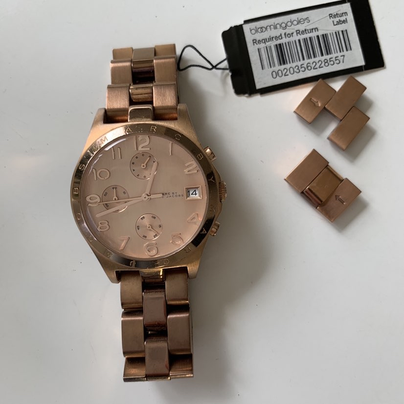 Marc Jacobs Henry Chronograph Rose Dial Rose Gold watch-36mmMarc Jacobs3
