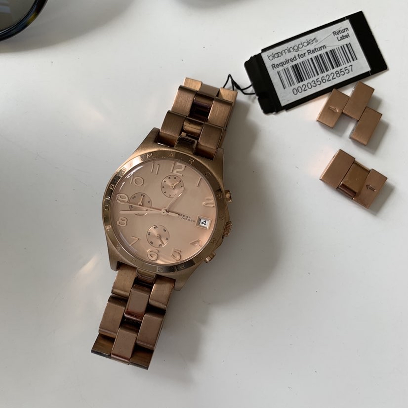 Marc Jacobs Henry Chronograph Rose Dial Rose Gold watch-36mmMarc Jacobs0