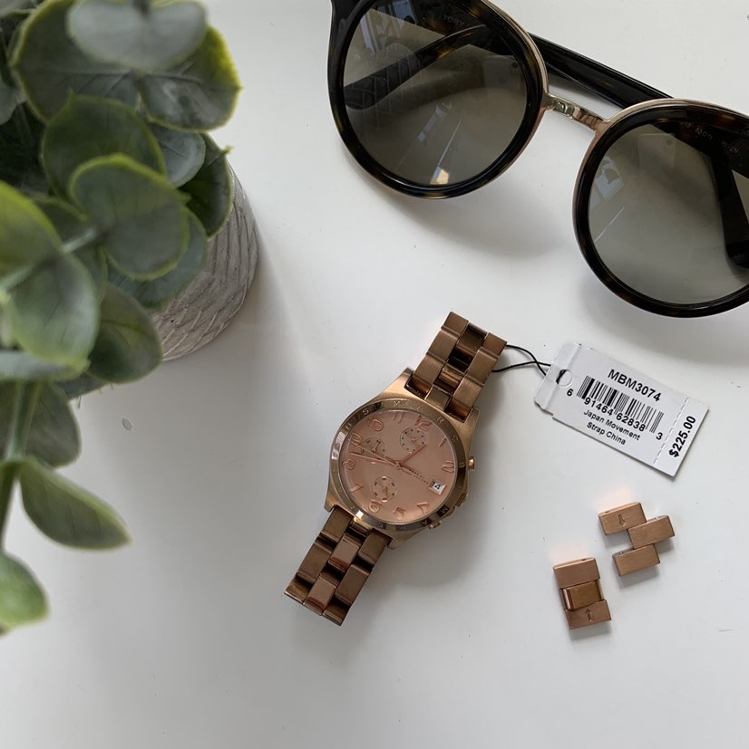 Marc Jacobs Henry Chronograph Rose Dial Rose Gold watch-36mmMarc Jacobs2