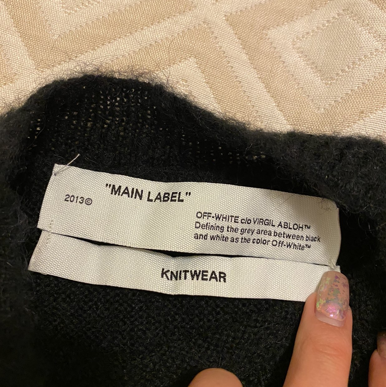 New Off White sweater Off-White1